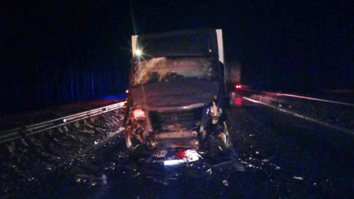 Водитель «Газели» попал в больницу после ДТП в Холмогорском районе