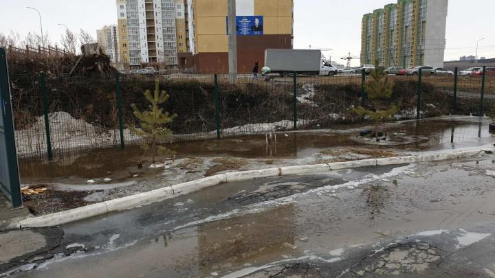 «Президенту, что ли, писать уже?»: жители «Академа» обвинили ЧелГУ в затоплении микрорайона