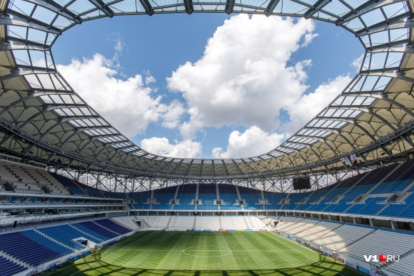 Стадион готовят к матчам в условиях карантина
