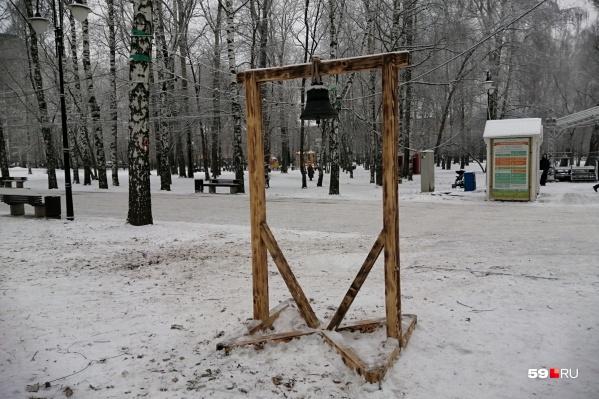 Такая конструкция появилась в саду Миндовского