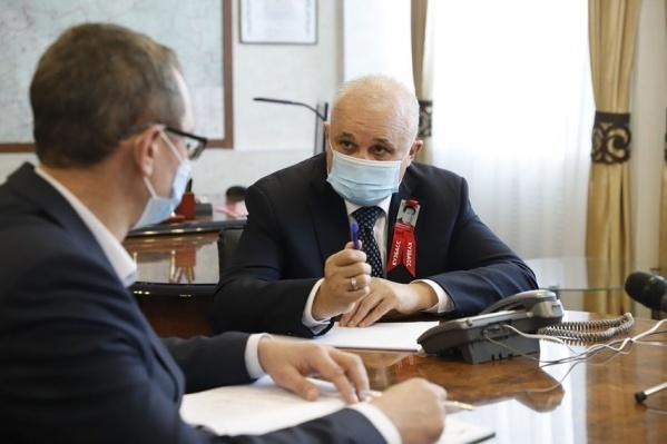 Губернатор считает, что эпидемиологическая обстановка в регионе стабильна