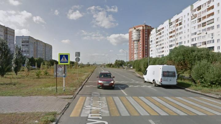 В Омске планируют реконструировать ещё один участок дороги по улице Крупской