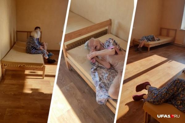 Источник рассказывал, что в пансионате постояльцы спят на голых матрасах без подушек<br>