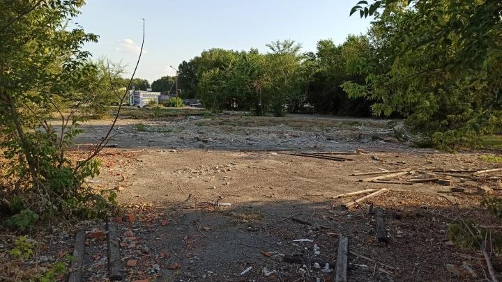 В Кургане не смогли найти подрядчика для ремонта сквера