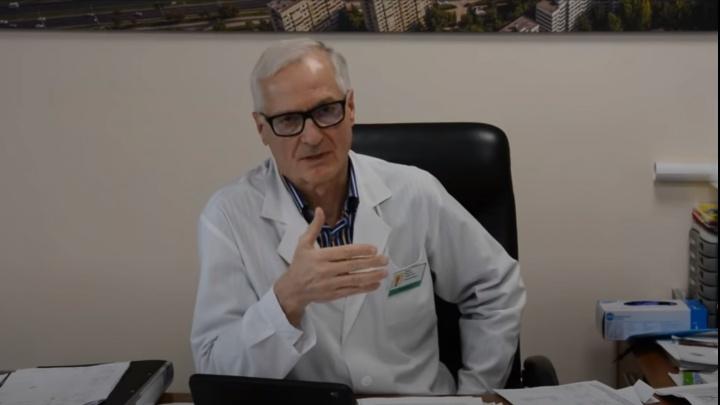 «На томографии у больного просто нет легких»: главврач Ренц о коварстве коронавируса