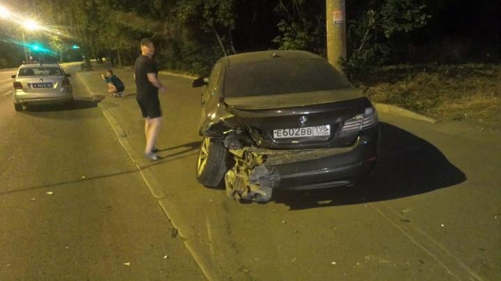 Водитель BMW был пьян: в ГИБДД рассказали подробности ночной аварии на Щербакова