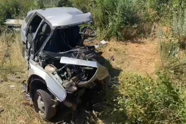 Авария произошла на автодороге Ростов — Волгодонск в Багаевском районе