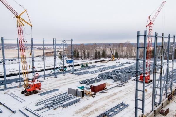 Распределительный центр MAKFA будет построен качественно и в срок — к концу 2021 года