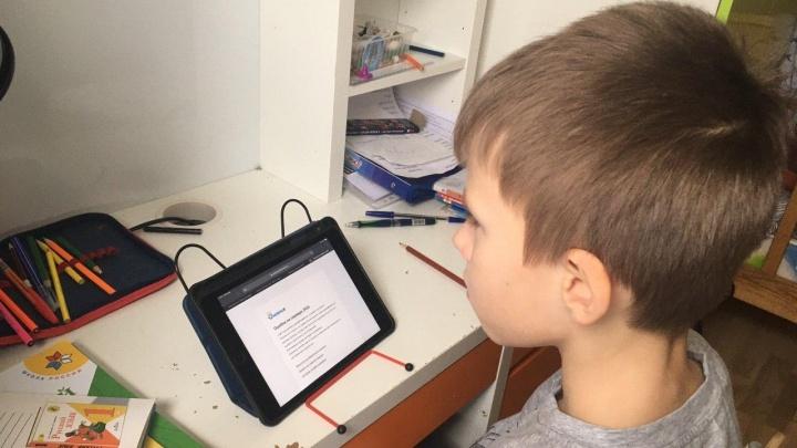 Екатеринбургские школьники начали учиться на удаленке — и образовательные сайты тут же упали