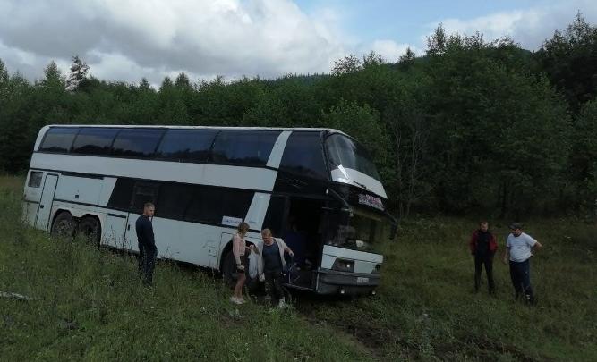В Башкирии в аварию попал еще один автобус с туристами