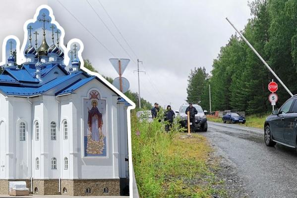 Монастырь закрыли для паломников и прихожан. Но не для всех