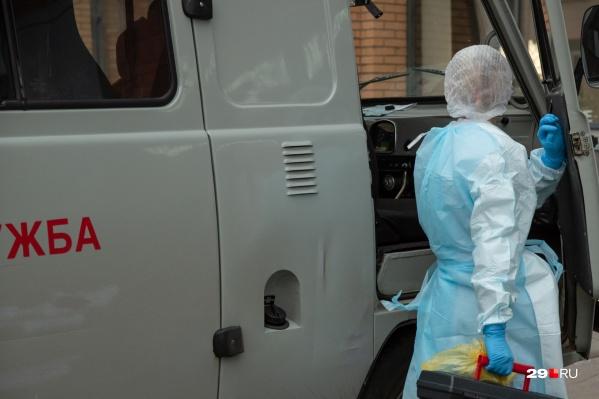 Коронавирусом переболели больше четырех тысяч человек, работающих в сфере медицины