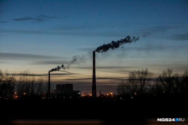 Ситуация с качеством воздуха в Красноярске по-прежнему плачевная