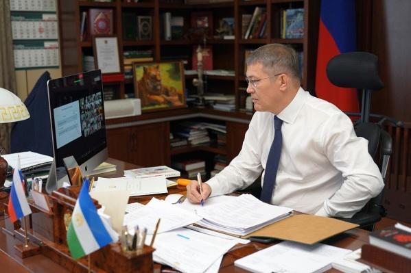 По словам главы региона, Хабиров высказался о коронавирусе