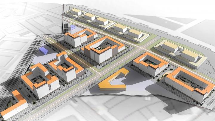 Рядом с деревней Универсиады построят жилой квартал с торговым центром и кинотеатром