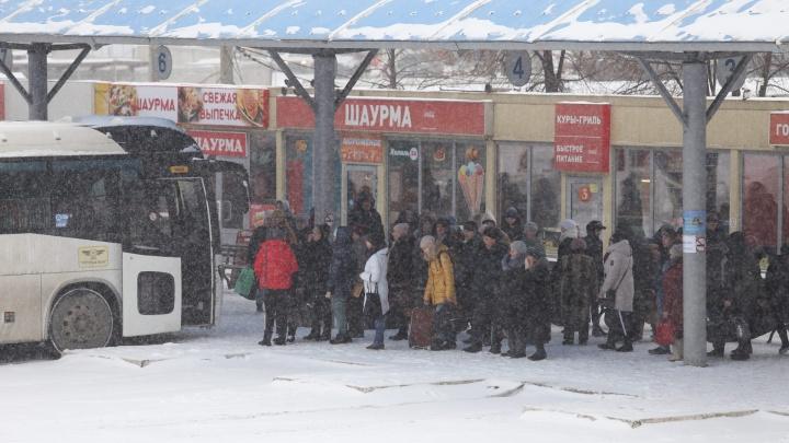 В Челябинской области сняли ограничение для междугородних автобусных рейсов
