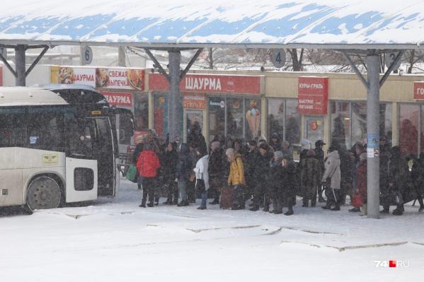 Автовокзалы Челябинской области снова продают билеты на автобусные рейсы