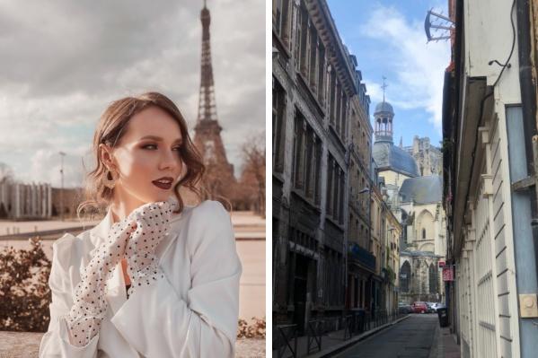 Александра живет во Франции уже много лет<br>