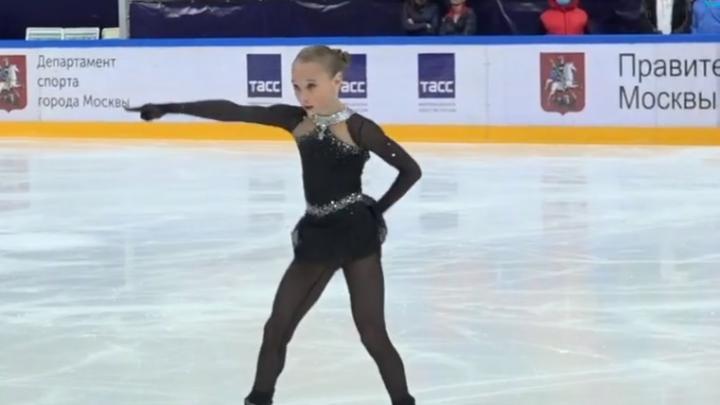 Фигуристка из Архангельской области и «ангел Плющенко» стала второй на Первенстве Москвы