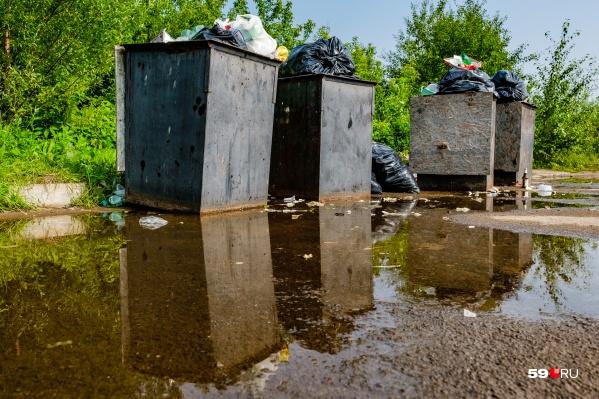Во время прямой линии можно задать вопрос или предъявить претензию по состоянию мусорных площадок