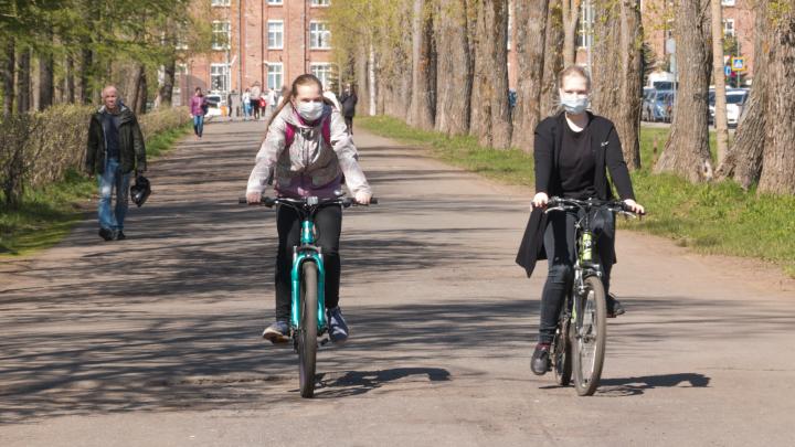 Северодвинск во время пандемии: смотрим, как горожане соблюдают масочный режим