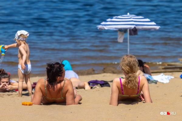 Пляжный сезон начнётся позже обычного
