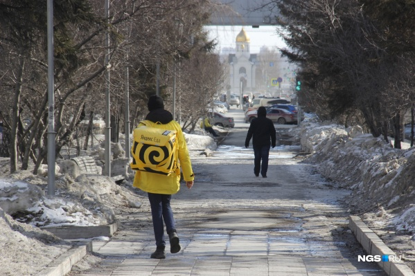 Заведения Новосибирска пока работают только на доставку