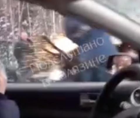 Появилось видео с места ДТП, где погиб председатель Ярославской областной думы Алексей Константинов