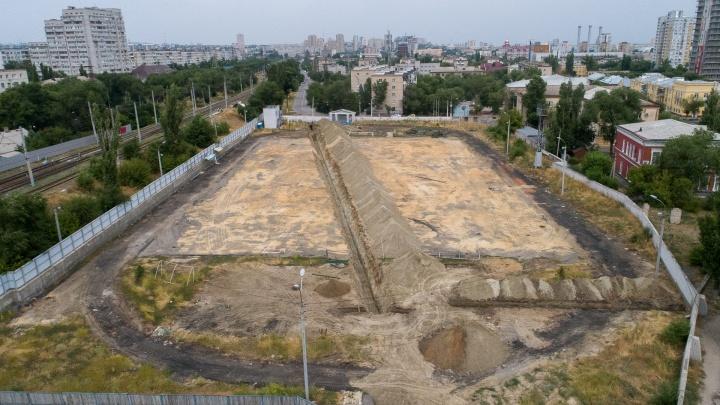 Не сохранили. В Волгограде сровняли с землей полюбившийся горожанам стадион «Пищевик»