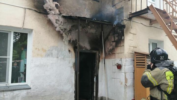 В Челябинской области из горящего детсада эвакуировали 39 детей и 16 сотрудников