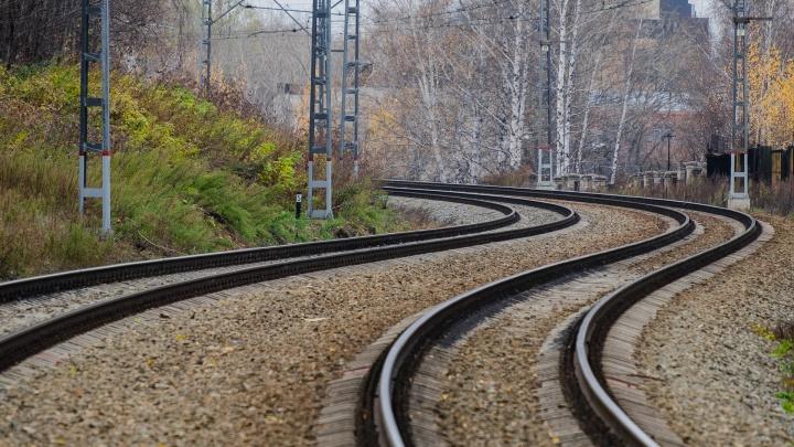 В Перми грузовой поезд сбил 78-летнего пенсионера