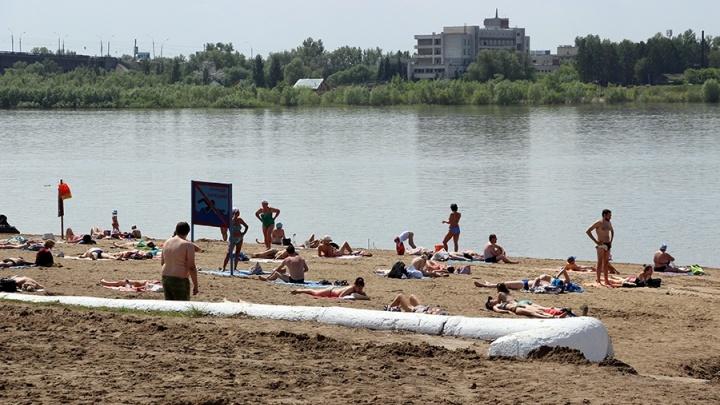 В последние дни лета в Омск вернётся жара