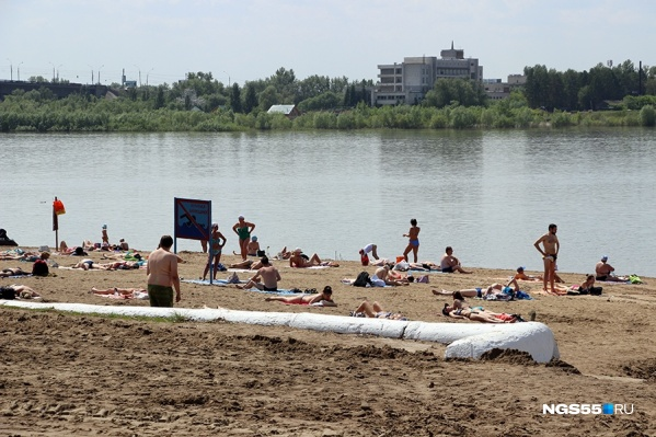 Последние дни лета можно будет провести на пляже