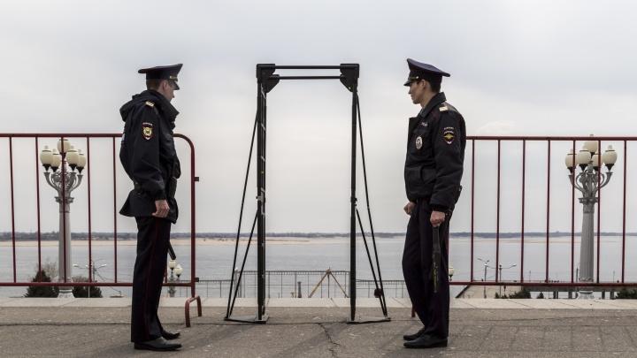 В Волгограде перекрыта Центральная набережная из-за «Крымской весны»