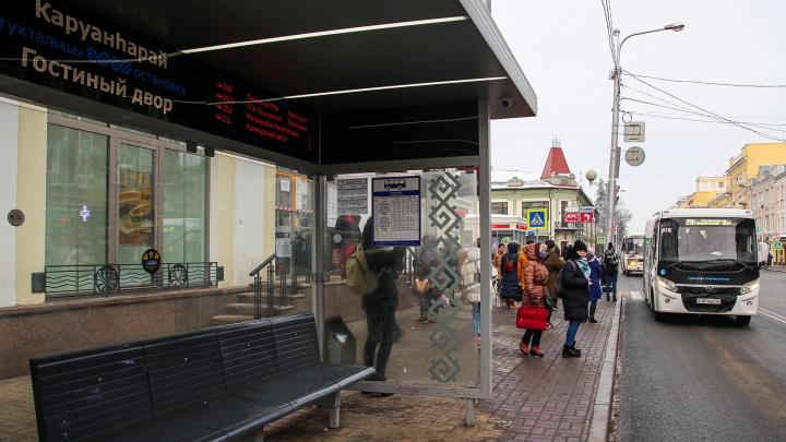 Радость для вандалов: в Уфе появятся умные остановки с печкой. Стоить они будут миллионы рублей