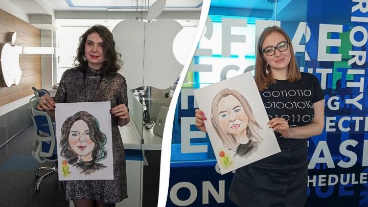 Нарисовали шарж на каждую женщину: смотрим, какое безумие творилось в офисах накануне 8 Марта