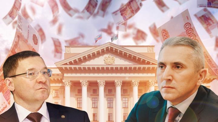 Моор дороже Якушева: изучаем расходы на губернатора Тюменской области за десять лет