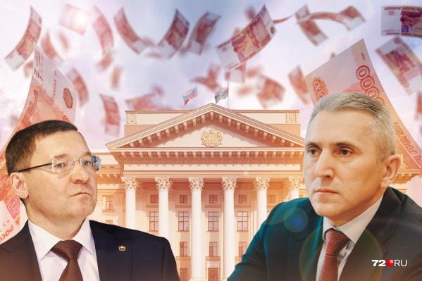 Якушев был главой области 13 лет, а Моор руководит регионом третий год