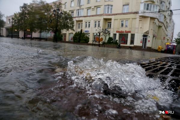 После потопа также восстановлено движение в Рудничном районе