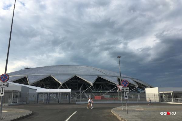 Стадион построили к ЧМ по футболу