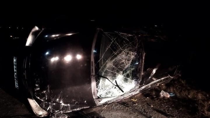 В Курганской области в ДТП на трассах погибли и пострадали несколько человек