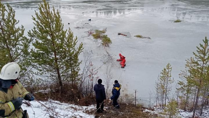 На севере области утонул рыбак, который вышел на первый тонкий лед