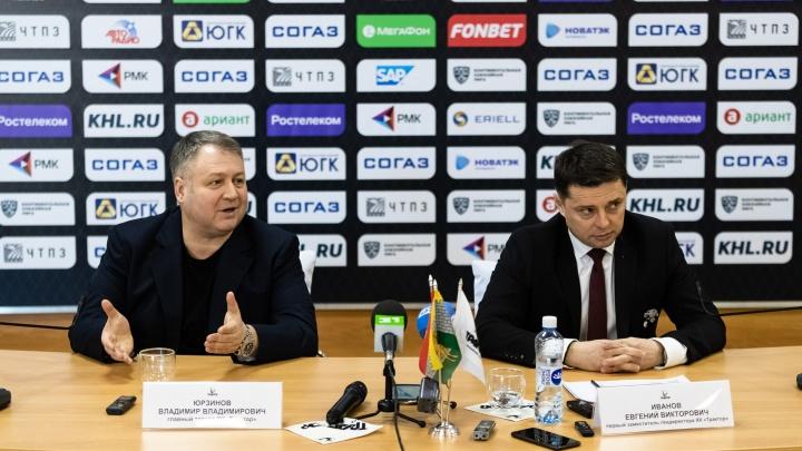 Главный тренер «Трактора» подвёл итоги сезона и прокомментировал информацию о возможном уходе