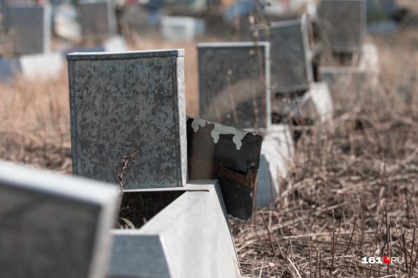 Сейчас чиновники Таганрога думают, как решить проблему нехватки мест для захоронений