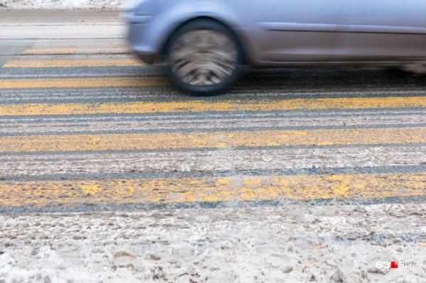 На нерегулируемых пешеходных переходах часто происходят ДТП
