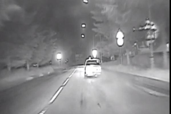 Пьяный водитель устроил гонку от полицейских по дворам