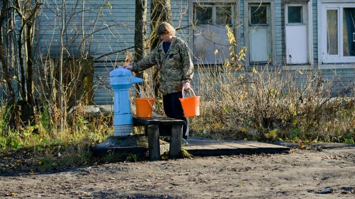 9 октября жители Архангельска смогут бесплатно набрать воду на уличных колонках