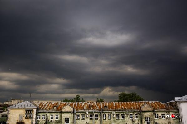 На Ярославль снова надвигается непогода