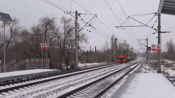 «Из-за строительства новой дороги»:в Волгограде перенесли платформы станции «Акварель»