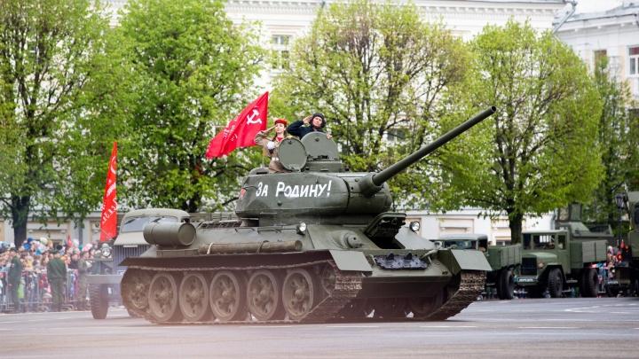 Шествие военных и фейерверки: парад Победы в Ярославле пройдёт для случайно оказавшихся рядом